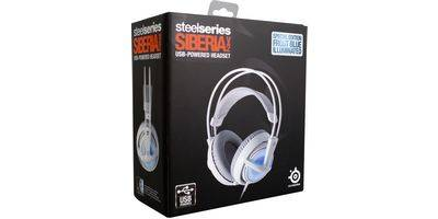 SteelSeries Siberia v2 Frost Blue в коробке