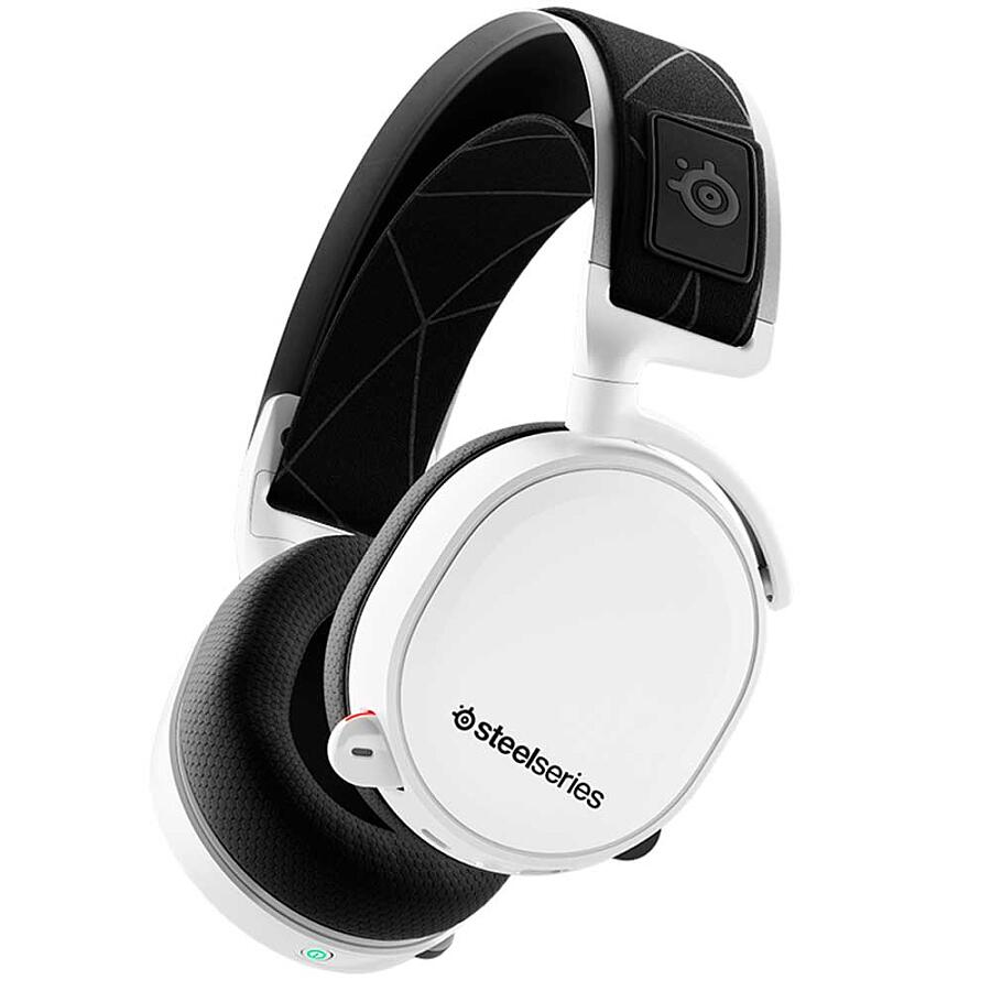 Наушники SteelSeries Arctis 7 White 2019 Edition - фото 1