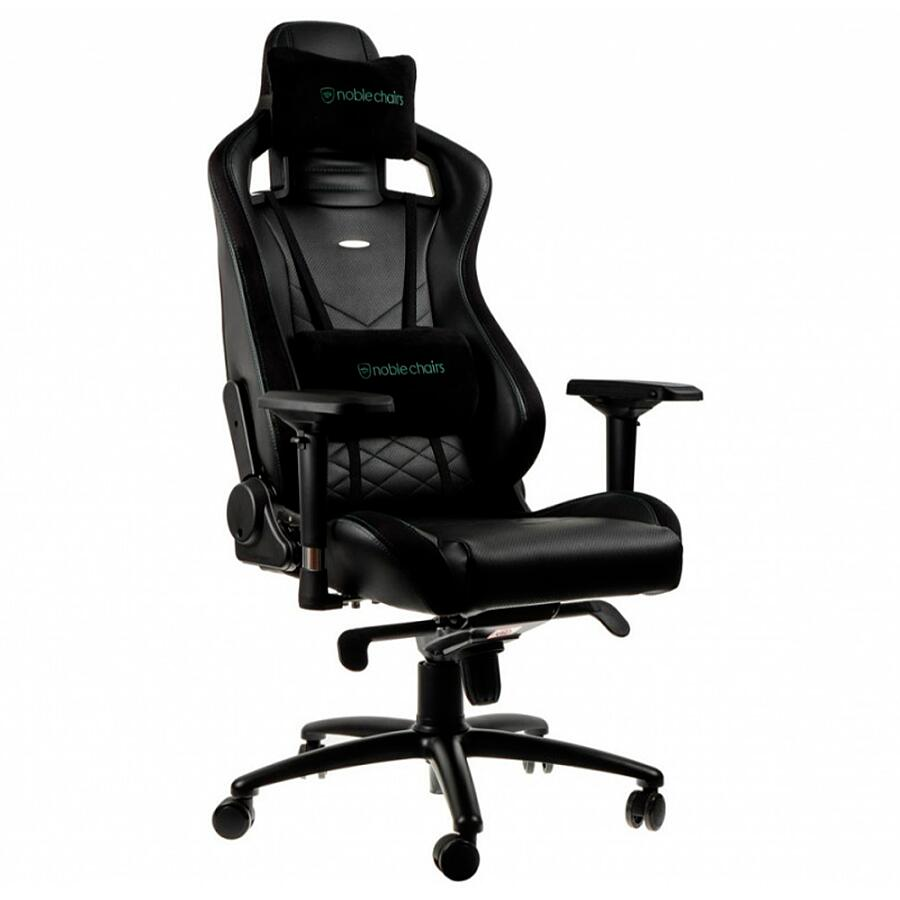 Игровое кресло Noblechairs EPIC Black/Green - фото 1