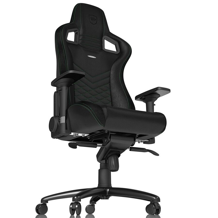 Игровое кресло Noblechairs EPIC Black/Green - фото 5