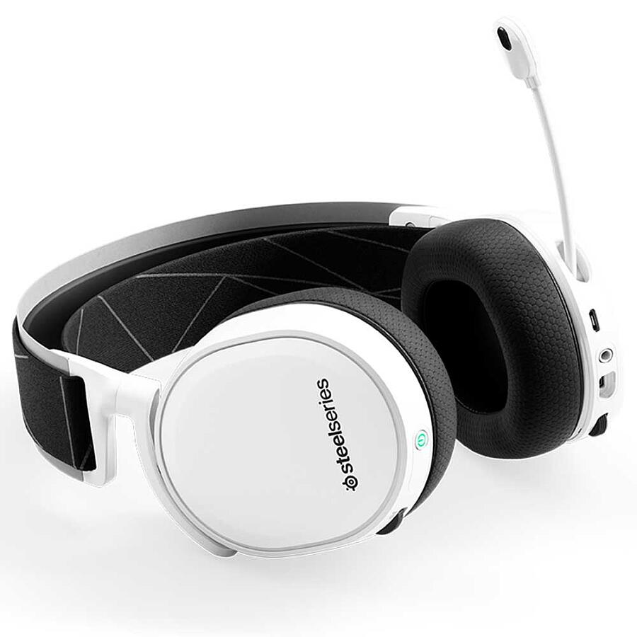 Наушники SteelSeries Arctis 7 White 2019 Edition - фото 5