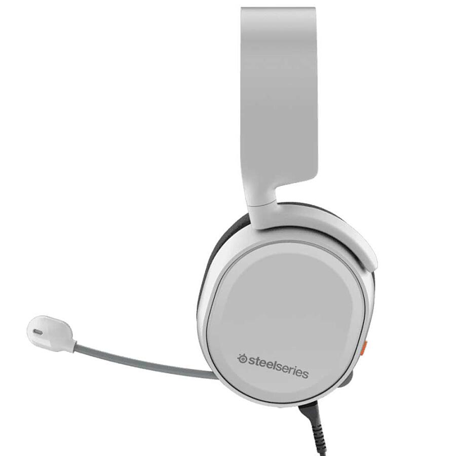 Наушники SteelSeries Arctis 3 White - фото 3