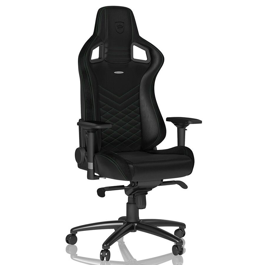 Игровое кресло Noblechairs EPIC Black/Green - фото 2