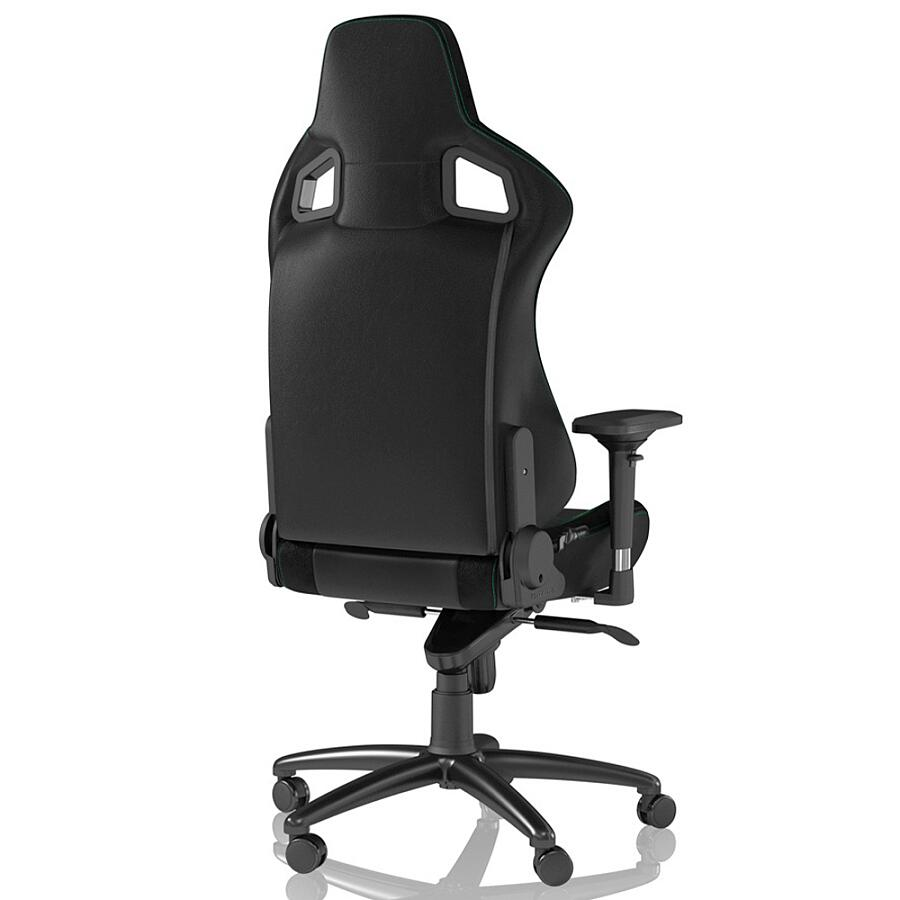 Игровое кресло Noblechairs EPIC Black/Green - фото 3