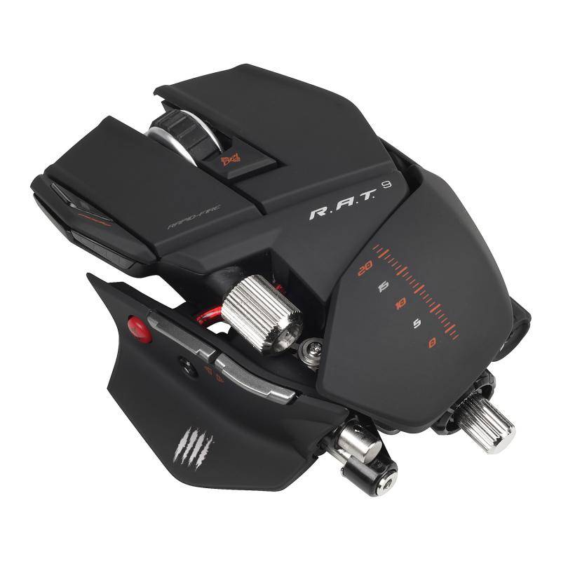 Mad Catz R.A.T.9 Matt Black - фото 1