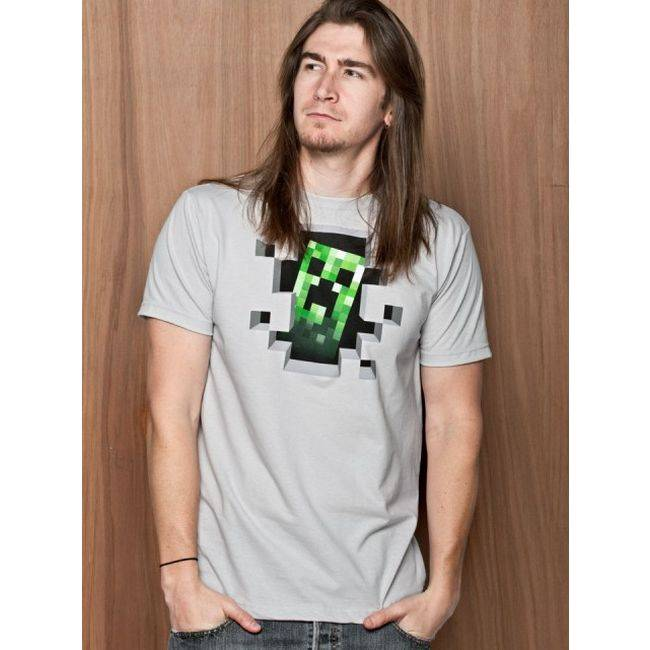 Футболка Minecraft Creeper Inside - фото 2