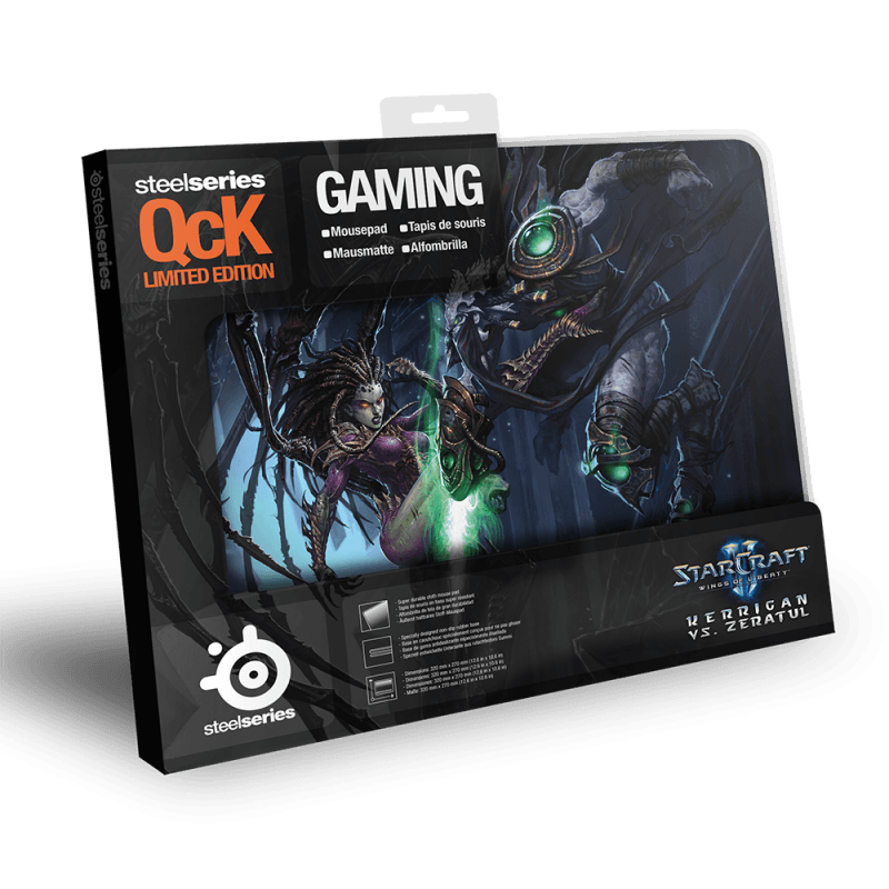 SteelSeries QcK Limited Edition StarCraft2 Kerrigan vs. Zeratul - фото 2