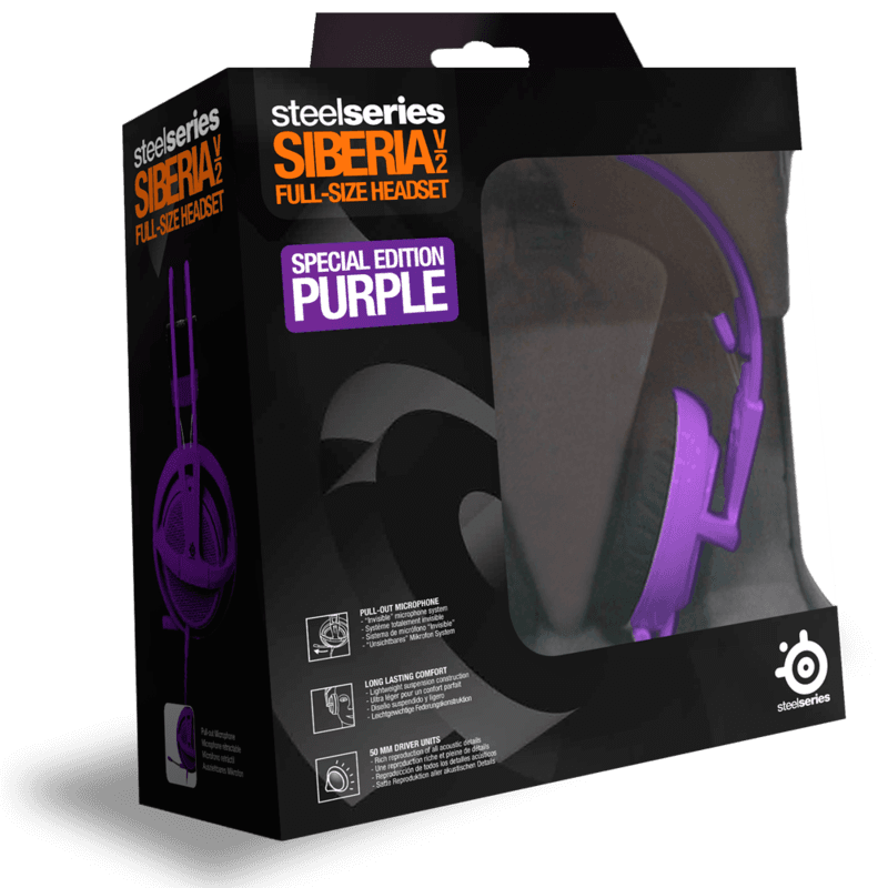 SteelSeries Siberia v2 Purple - фото 4