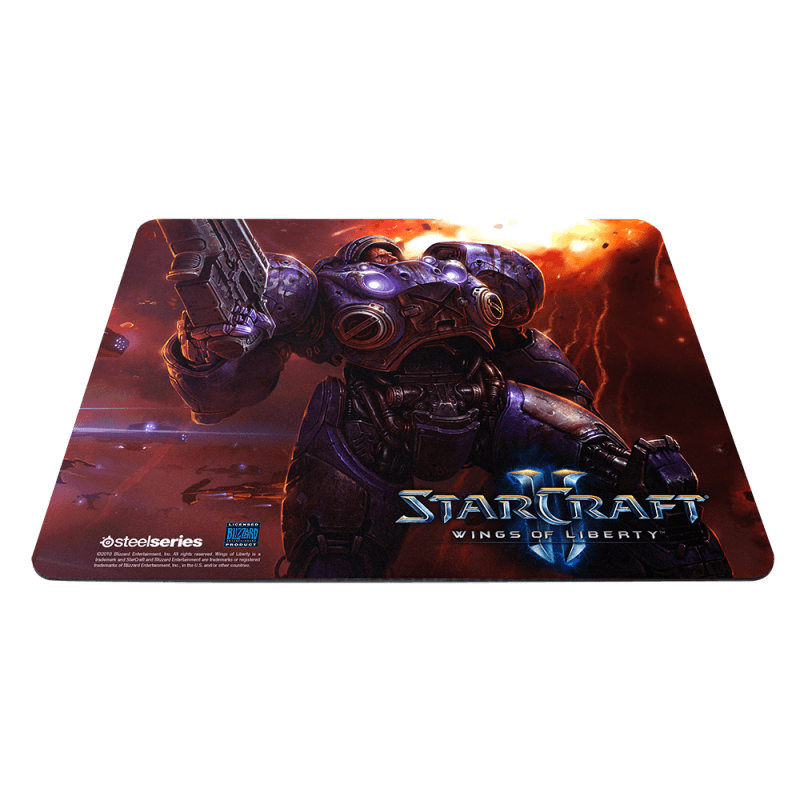 SteelSeries QcK Limited Edition StarCraft II Tychus Findlay - фото 1