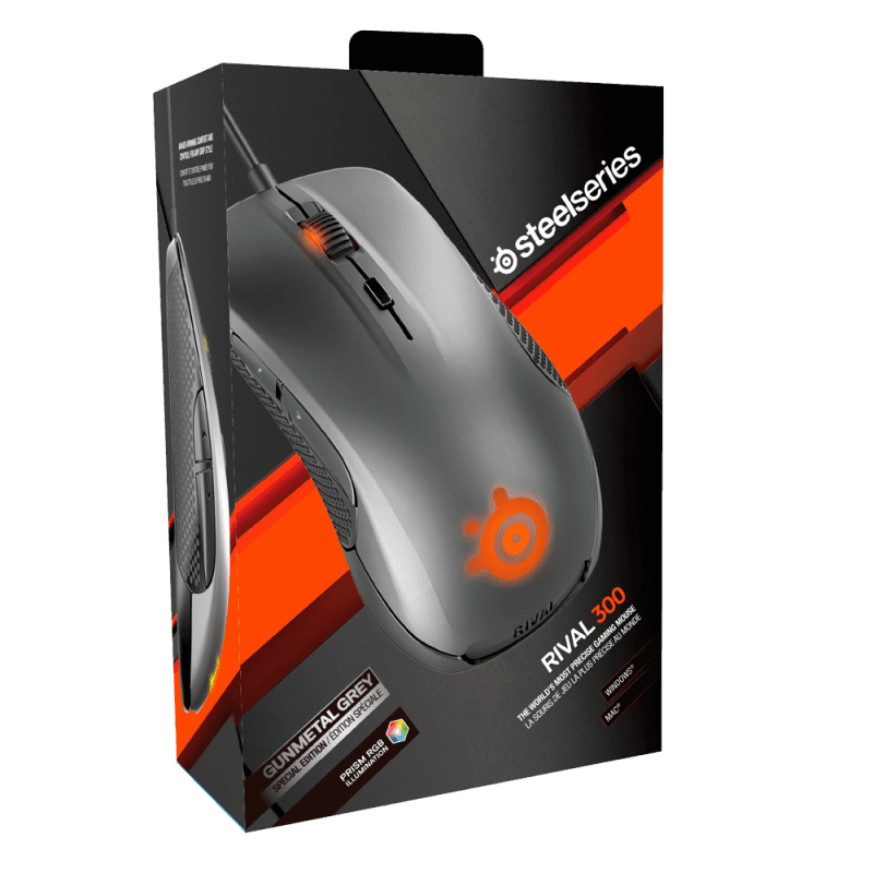SteelSeries Rival 300 Silver - фото 5