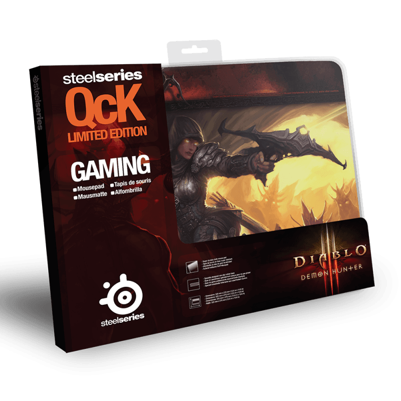 SteelSeries QcK Demon Hunter Edition Diablo III - фото 2