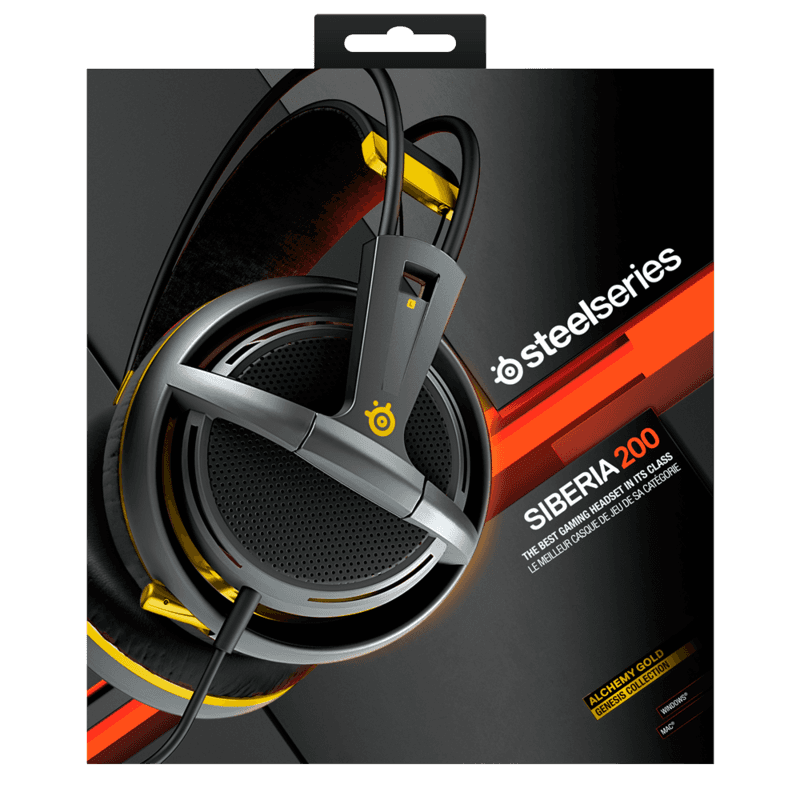 SteelSeries Siberia 200 Alchemy Gold - фото 7