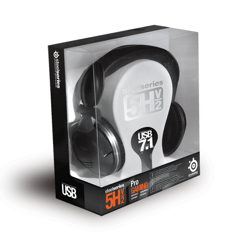 SteelSeries 5Hv2 USB - фото 2