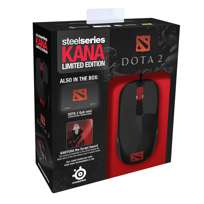 SteelSeries Kana DOTA 2 Bundle - фото 4