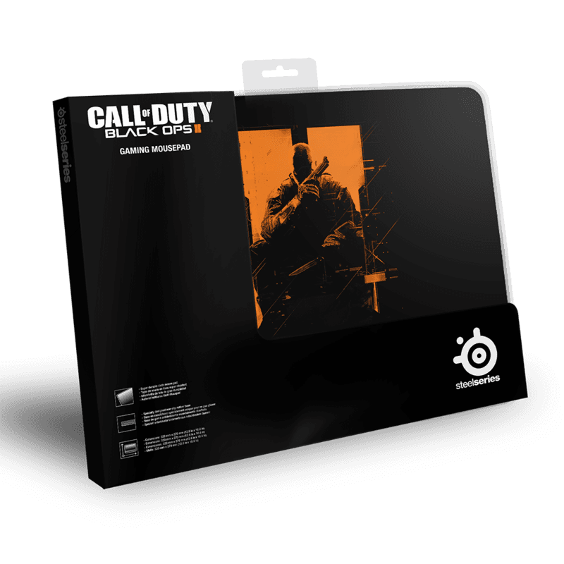 SteelSeries QcK COD Black Ops II O.S. - фото 2