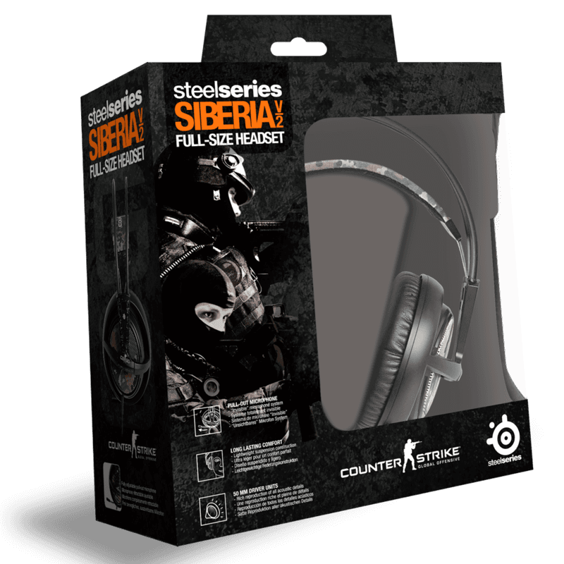 SteelSeries Siberia v2 Counter Strike: Global Offensive Edition - фото 6
