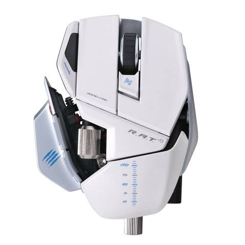 Mad Catz R.A.T. 9 Gloss White - фото 3