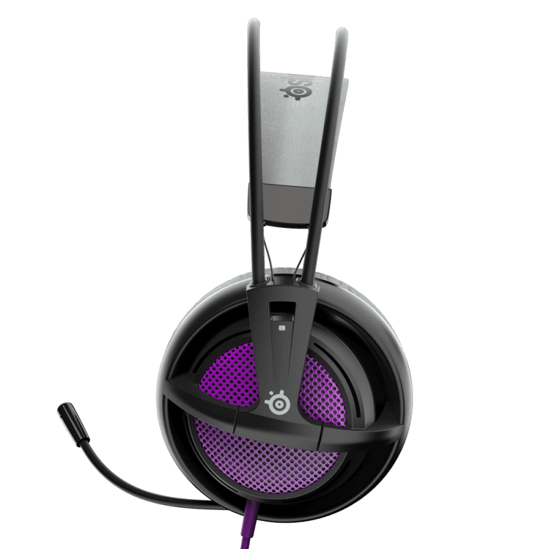 Наушники SteelSeries Siberia 200 Sakura Purple - фото 3