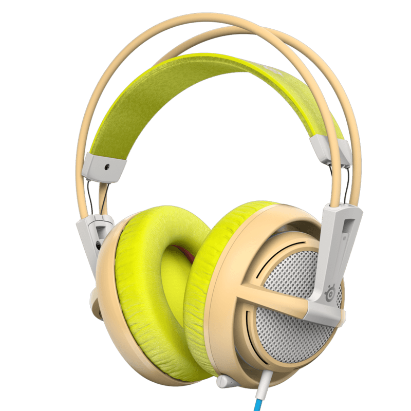 Наушники SteelSeries Siberia 200 Gaia Green - фото 1