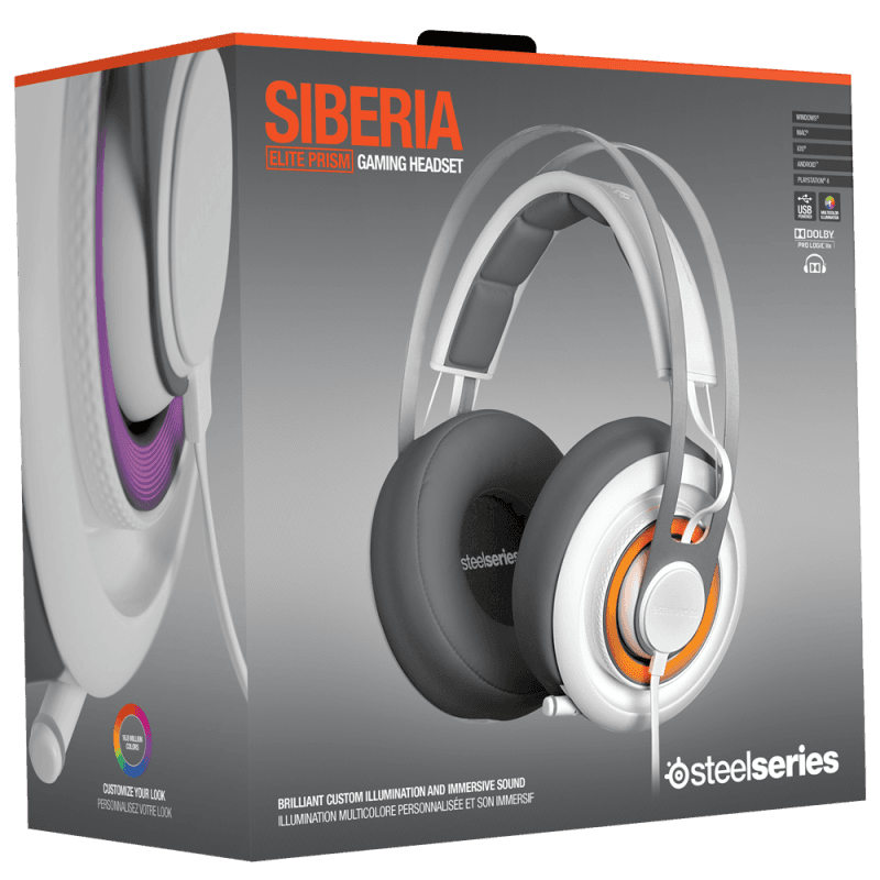 SteelSeries Siberia Elite Prism White - фото 8