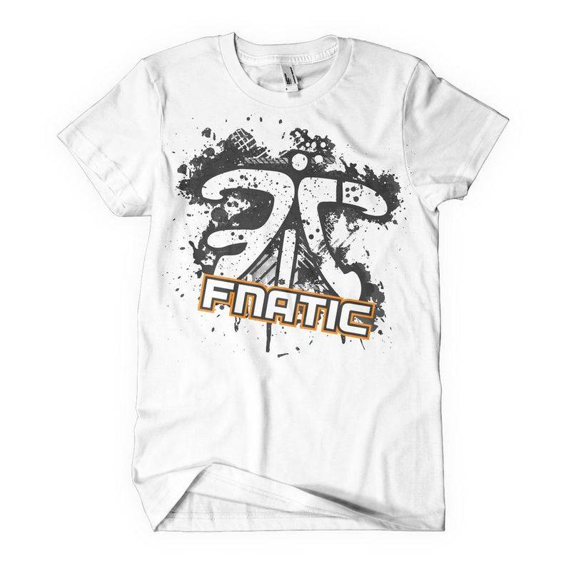 Fnatic Retro T-Shirt White XL - фото 1