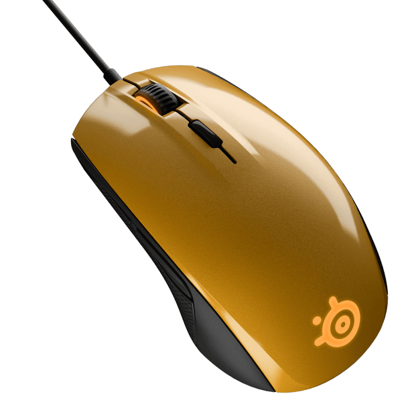 Мышь Steelseries Rival 100 Alchemy Gold - фото 2