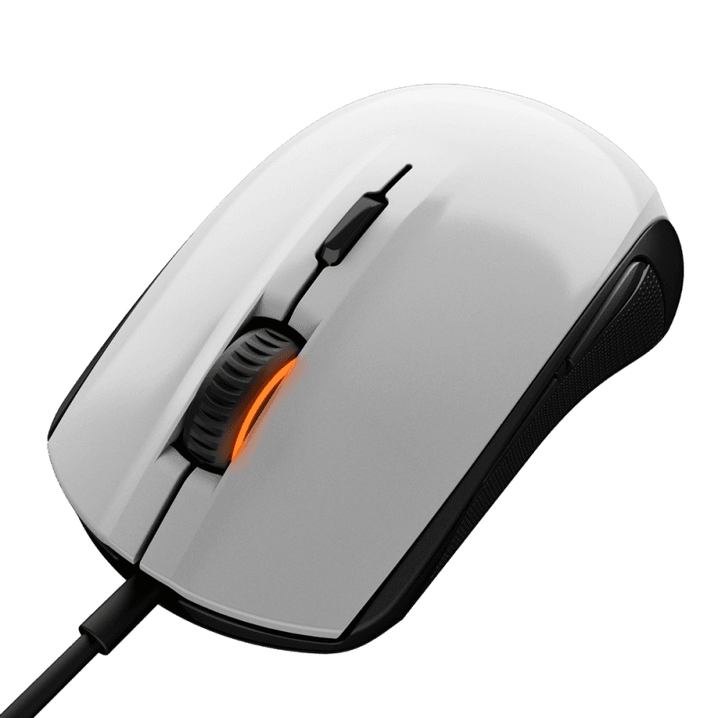 Мыши SteelSeries Rival 100 White