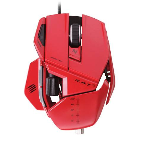 Mad Catz R.A.T. 5 Gloss Red - фото 2