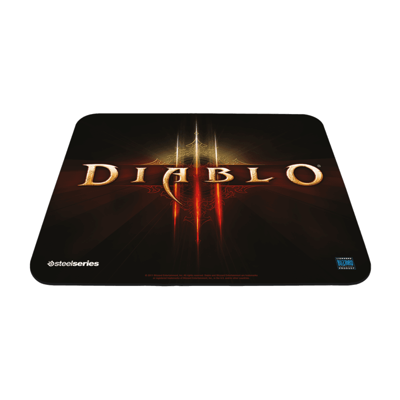 SteelSeries QcK mini Diablo III Logo Edition Diablo III - фото 1