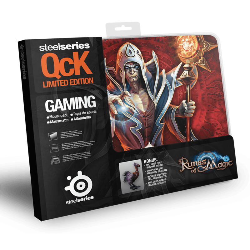 SteelSeries QcK Limited Edition Runes of Magic - фото 2