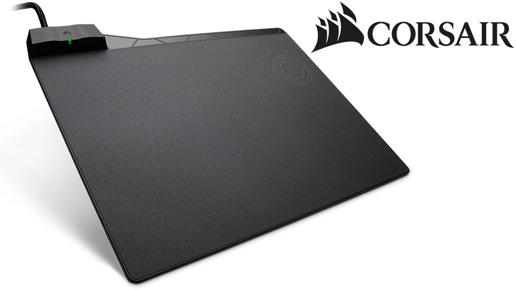 Обзор CORSAIR MM1000 Qi Wireless Charging Mouse Pad