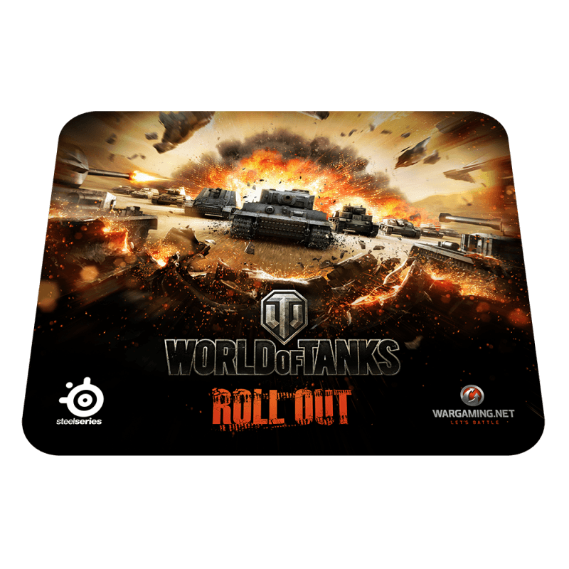 Коврик для мыши SteelSeries QcK World of Tanks Tiger Edition