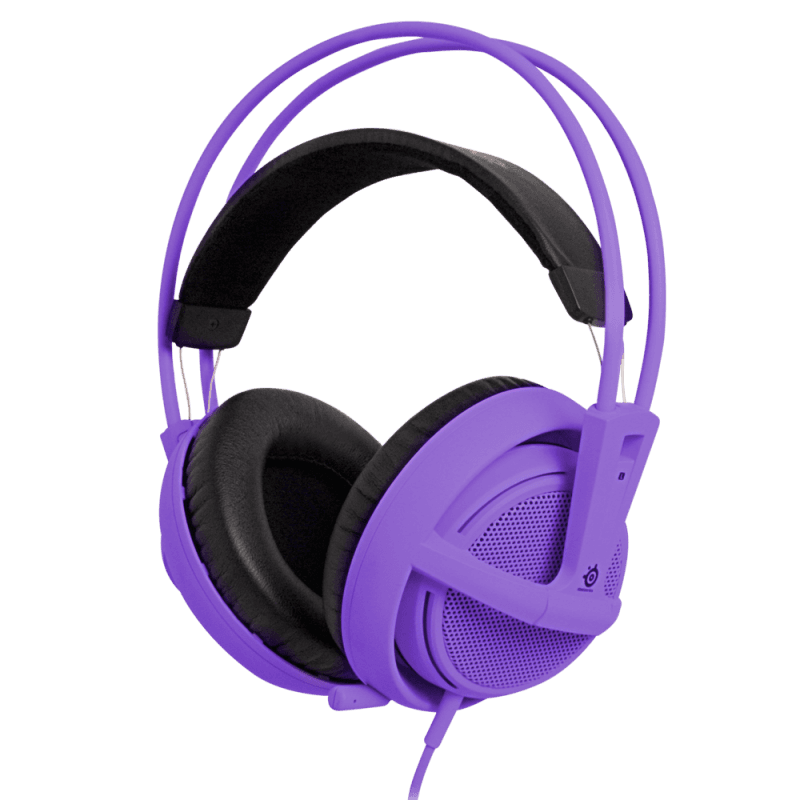 SteelSeries Siberia v2 Purple - фото 1