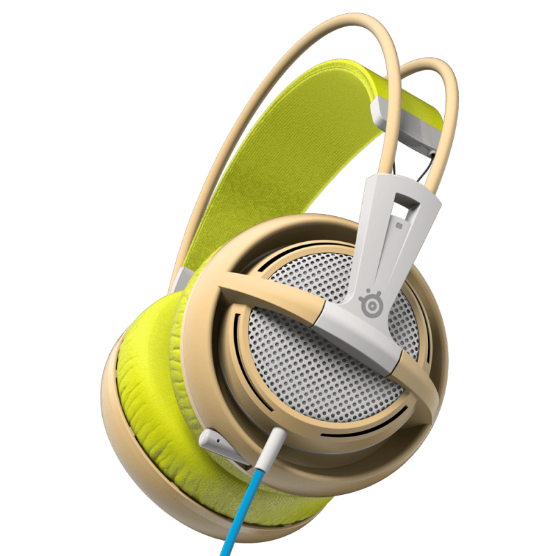 Наушники SteelSeries Siberia 200 Gaia Green - фото 2