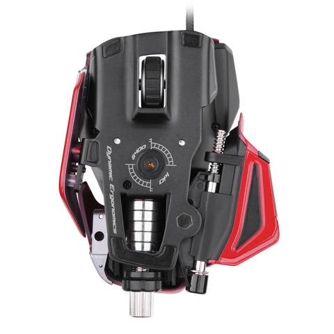 Mad Catz M.M.O. 7 Gloss Red - фото 4