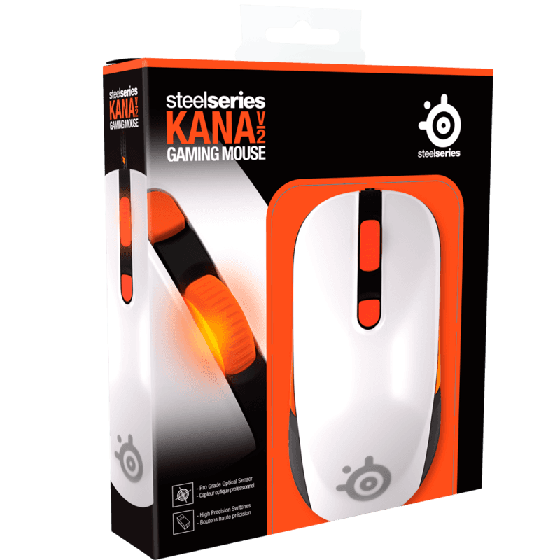 SteelSeries Kana v2 White - фото 4