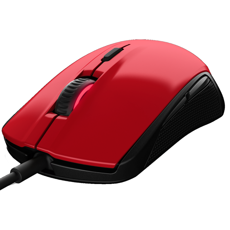 SteelSeries Rival 100 Forged Red - фото 2