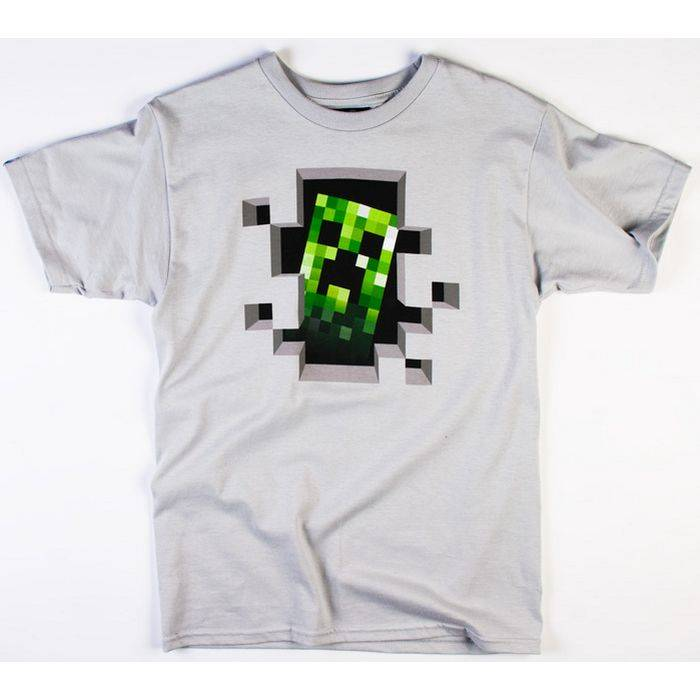 Футболка Minecraft Creeper Inside - фото 1