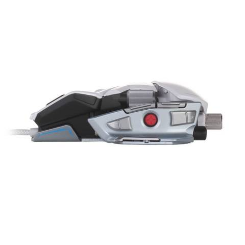 Mad Catz M.M.O. 7 Gloss White - фото 5