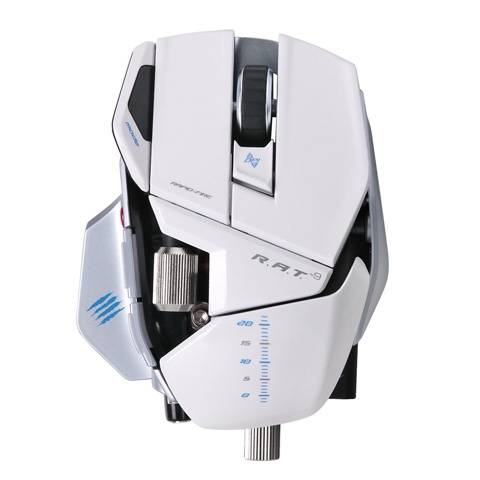 Mad Catz R.A.T. 9 Gloss White - фото 2