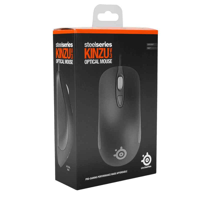 SteelSeries Kinzu v3 Black - фото 2