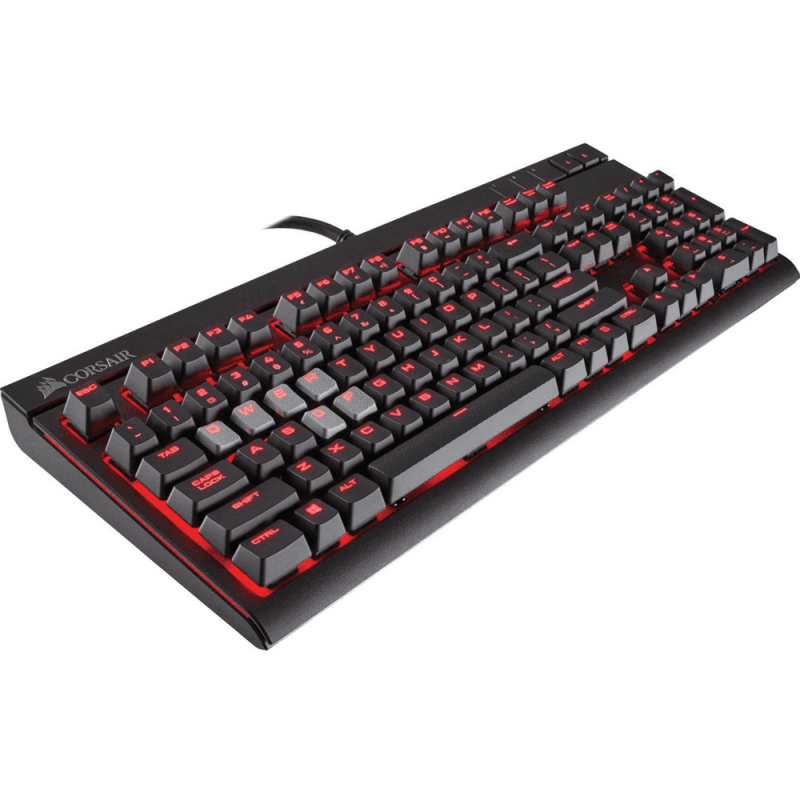 Клавиатура Corsair STRAFE Cherry MX Red - фото 6