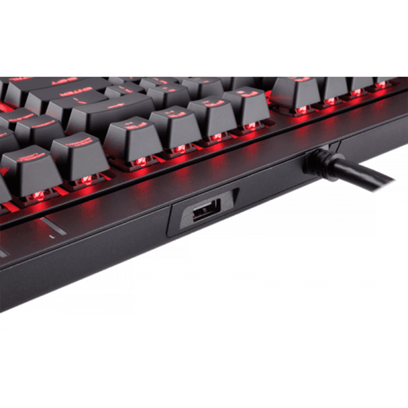 Клавиатура Corsair STRAFE Cherry MX Red - фото 5