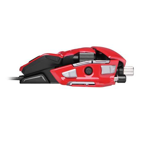 Mad Catz M.M.O. 7 Gloss Red - фото 5