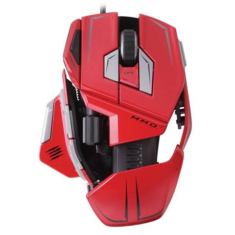 Mad Catz M.M.O. 7 Gloss Red - фото 3