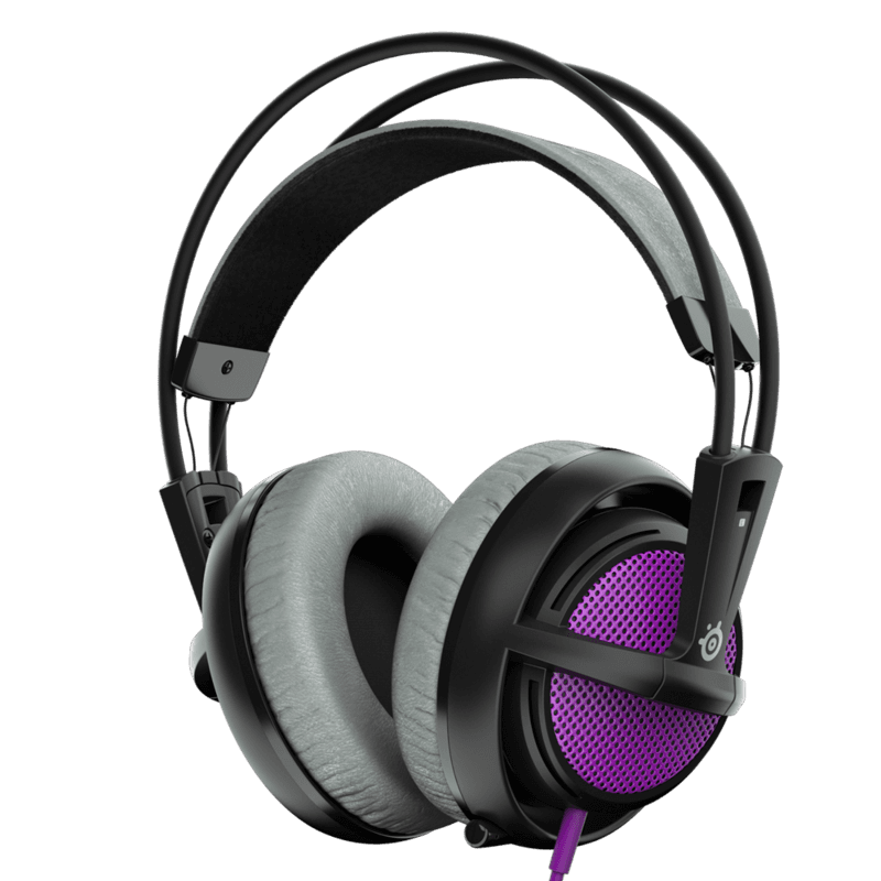 Наушники SteelSeries Siberia 200 Sakura Purple - фото 1
