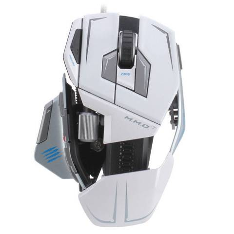 Mad Catz M.M.O. 7 Gloss White - фото 3