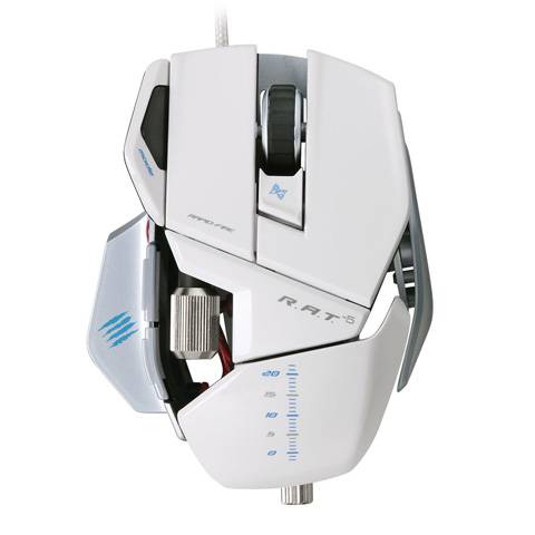 Mad Catz R.A.T. 5 Gloss White - фото 2