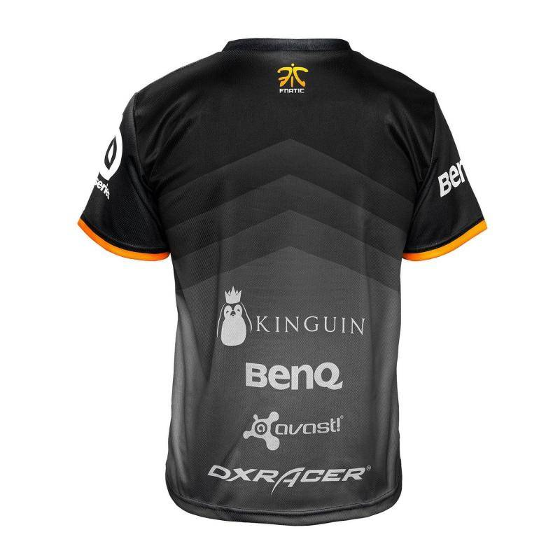 Футболка Fnatic Player T-Shirt 2015 New Season - фото 2