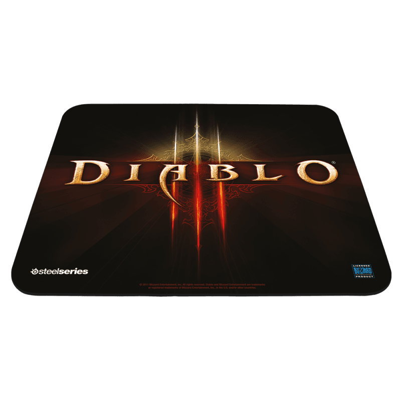 SteelSeries QcK Diablo III Logo Edition - фото 1